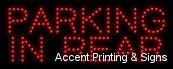 Parking in Rear LEDサイン( High Impact、エネルギー効率的、経済的な価格設定