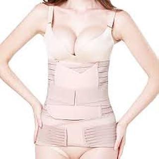 IMPORTIKAAH Postpartum 3-in-1 Girdles Wrap– Waist + Pelvis Pregnant Post Pregnancy Slimming Belt