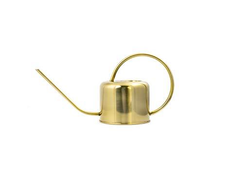 Kikkerland Gießkanne, Metall, Gold, 37.5 x 13 x 19.5 cm