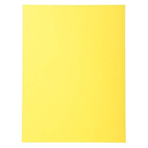 Exacompta 420005E - Lote de 100 Subcarpetas Forever® 180, Color Amarillo