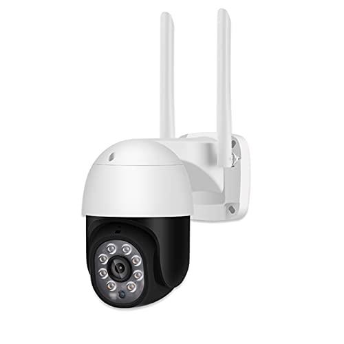 SUN JUNWEI 1080P 3MP 5MP PTZ Telecamera di sorveglianza WiFi Esterna IP Rilevazione Umana Tracciamento Automatico Motorizzato Audio bidirezionale Impermeabile IP66 Visione Notturna a Colori P2P,3mp