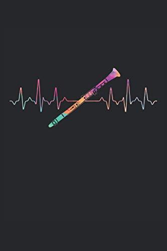 Terminplaner 2021: Terminkalender für 2021 mit Heartbeat Clarinette Cover | Wochenplaner | elegantes Softcover | A5 | To Do Liste | Platz für Notizen | für Familie, Beruf, Studium und Schule