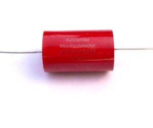 Jellyfish Audio Audio Endstufe Kollektoranschluß 4,7 uf 400 V MKP Kondensatoren Ventil Frequenzweiche