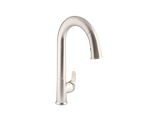 KOHLER K-72218-VS Sensate Touchless Kitchen Faucet, Vibrant Stainless