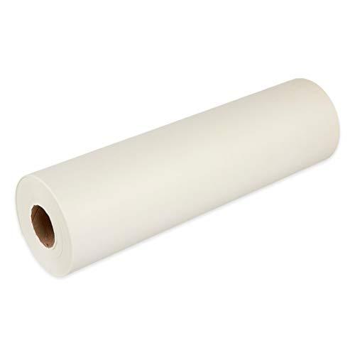 thermohauser Rollo de papel de corte para horno, pergamino, blanco, 200 m x 43 cm
