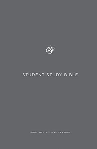 ESV Student Study Bible (Gray)