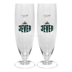 Jever Bier Glas Bierglas Tulpenglas Gläser Set ? 2x Pilstulpen 300ml