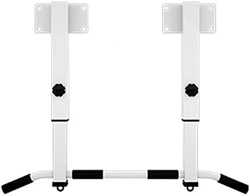 Tire de la barra interior Inicio Casa Fitness Formal de entrenamiento de la fuerza de la aptitud Sentado Pull Up Bar Up Puerta, Multi-Grip Chin-Up Station con perchas for bolsas de perforación, cuerda