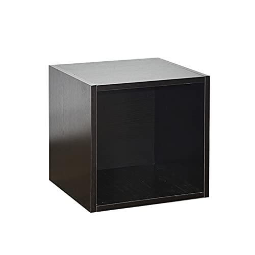 Nai-storage LP Stacking Gabinete Disco de Vinilo Caja de Almacenamiento, 12 Pulgadas Record Rack de Almacenamiento de gabinete, Pueden Combinar libremente Almacenamiento Caja de Madera