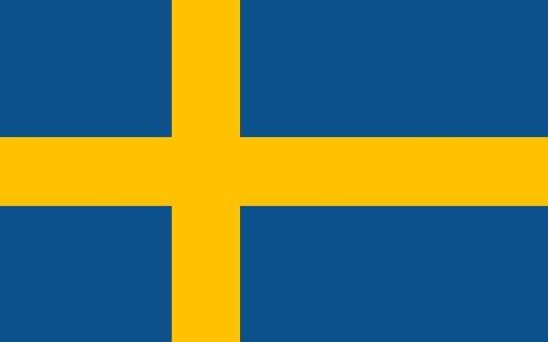 Outdoor Flagge, Banner, Fahne Schweden 90 * 150 cm