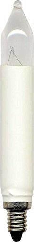 Scharnberger + Hasenbein SCHR 57562 - Bombilla (E10, 14/16 V, 3 W, 3 W, luz blanca cálida)