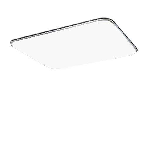 72W Luz de techo LED Lámpara de sala de estar blanca cálid