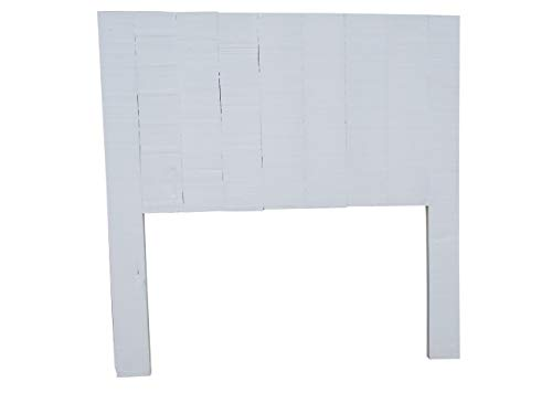 Dydaya Cabecero de Cama de Madera Color Blanco - Válido para Camas de 105 cm, 100 cm, 90 cm y 80 cm