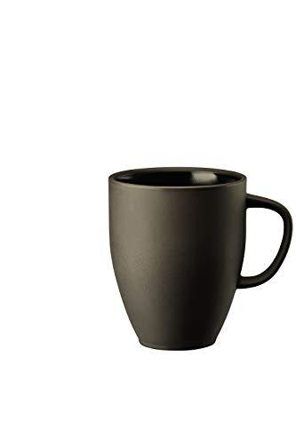Roswenthal - Junto - Slate Grey - Becher mit Henkel/Henkelbecher/Kaffeebecher - Steinzeug - 0,38 l