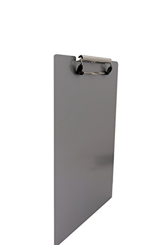 Saunders 21511 Recycled Aluminum Clipboard - Silver, Legal Size, 8.5 in. x 14 in. Document Holder with Low Profile Clip Photo #2