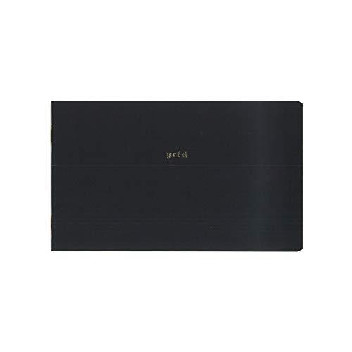 ダイゴー isshoni 横型ノート 横長 5mm方眼 PC13インチ対応 ブラック まとめ買い5冊セット R1713
