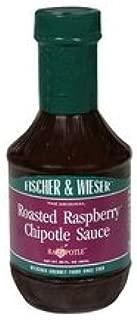 FISCHER & WIESER SAUCE CHPTL RSTD RSPBRY 15.8OZ
