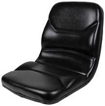 Concentric HIGH BACK BLACK SEAT FOR WALKER ZERO TURN MOWERS ZTR #IZ
