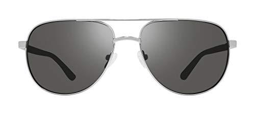 Revo Conrad - Gafas de sol polarizadas (59 mm, montura cromada, grafito)