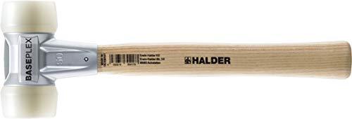 Halder erwin kg - Baseplex l, 270 mm de martillo-d 230 mm blanco, 25 g de nylon suave