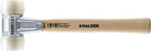 Halder erwin kg - Baseplex l, 270 mm de martillo-d 230 mm blanco, 25 g de nylon...