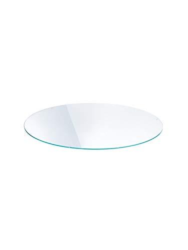 Lounge - Plateau de Table transparent/verre de sécurité/Ø84cm