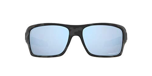 OO9263 Turbine Sunglasses, Matte Black Camo/Prizm Deep Water Polarized, 65mm