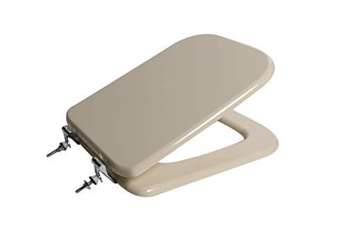 Copri wc water sedile per serie Conca Ideal Standard champagne euro legno