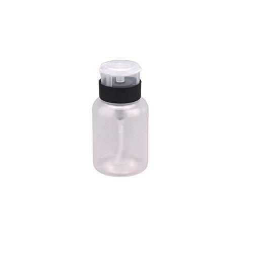 210ml Multifuktion Pompe Distributeur Nettoyant Bottlepush vers le bas manucure bouteilles goutteurs bouteille alcool liquide Polish Remover Bouteilles Squeeze Nail Container bouteille