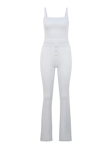 Missguided (Tall) Damen Jumpsuit weiß 6 (XS)