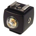 SEAGULL SYK-4 Hot Shoe Flash Light Remote Slave Trigger with PC Socket