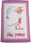Pantera rosa toalla de GOLF al ganar borde