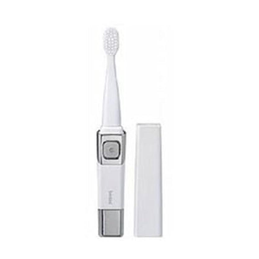 どれちなみに夜(まとめ)ツインバード 音波振動歯ブラシ パールホワイト BD-2755PW【×3セット】