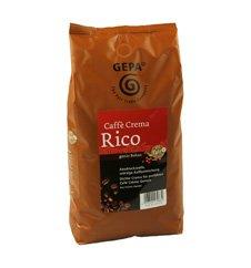 GEPA Rico Bio Café Creme ganze Bohne - 1 Karton (4 x 1000g) Fair Trade Kaffee