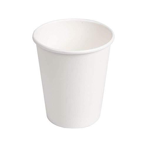 Monteluz -Vasos de Cartón Desechables, Biodegradables, Aptos para Cafés o Refrescos -...