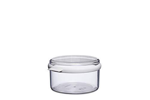 Rosti Mepal 106712030600 Boîte Stora Ronde 1.5 L, san/TPE, Blanc, 20,7 x 19 x 10,8 cm