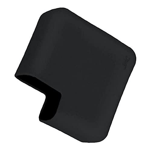 Funda protectora del protector del cargador de silicona Compatible con MacBook A1425 A1502 A1706 A1708 A2289 A2251 A2338 A2159 A1989 Adaptador de corriente negro