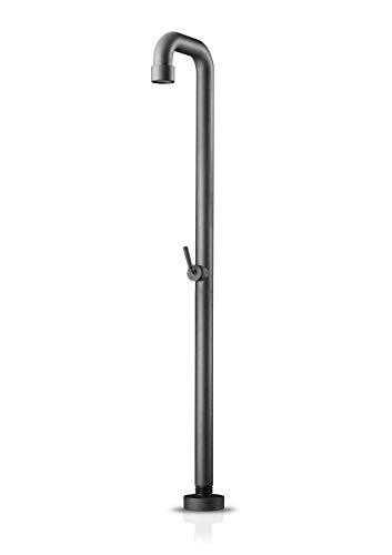 Review JEE-O SOHO 01 | Freestanding shower with pressure balance valve in RAW stainless steel