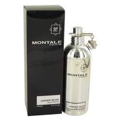 Montale Ginger Musk Eau de Parfum Spray (Unisex) by Montale – 3.4 oz