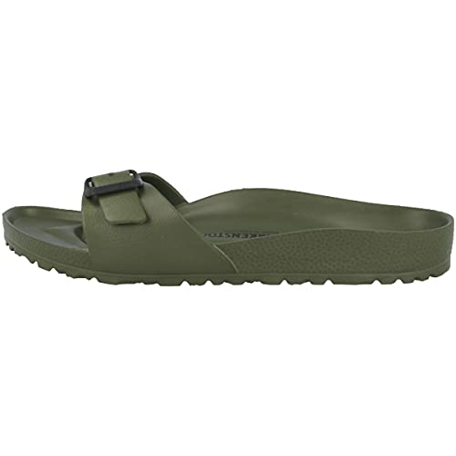 Birkenstock Schuhe Madrid Eva Normal Khaki (128251) 43 Gruen