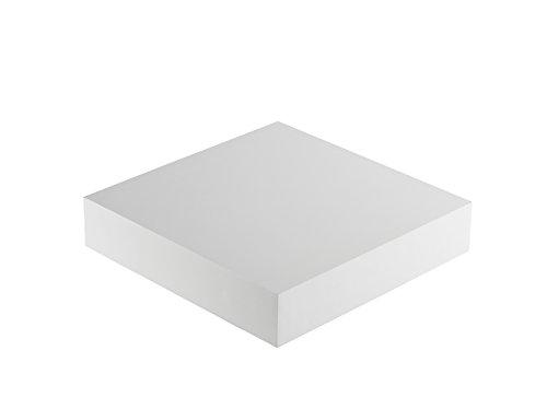 Meubelstuk COM plank, hout, 25 cm lang x 25 cm diep x 5 cm dik