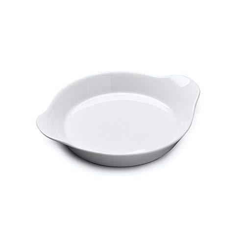 WM Bartleet & Sons 1750 T442 - Rejilla redonda de porcelana tradicional para cocinar y hornear, 21 cm, color blanco