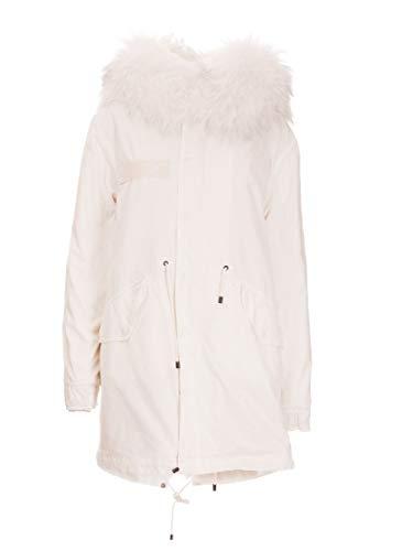 MR&MRS ITALY Luxury Fashion Damen XPM0183123102 Weiss Baumwolle Mantel | Herbst Winter 19