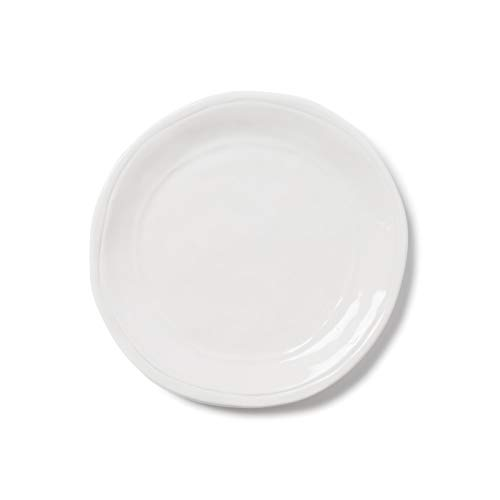 Vietri Viva Fresh Salad Plate - White