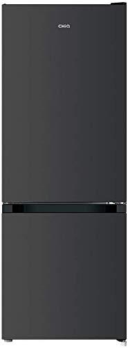 CHiQ Freistehender Kühlschrank mit Gefrierfach   Moderne Low-frost Technologie   144 x 54 x 55 cm (HxBxT)  205L Kapazität (153L / 52L)   Ultraleise 39 db   12 Jahre Garantie auf den Kompressor*