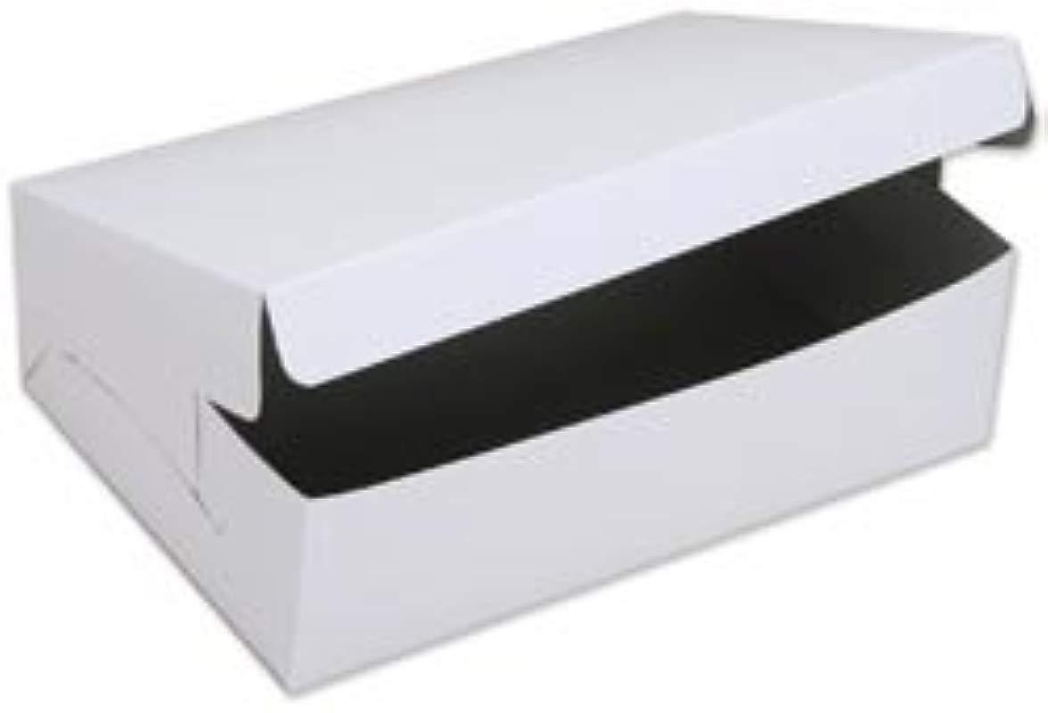 Wilton Bulk Buy Cake Box For 9 Inch X 13 Inch Cakes Or 12 Cupcakes 10 Inch X 14 Inch X 4 Inch W415943 12 Pack
