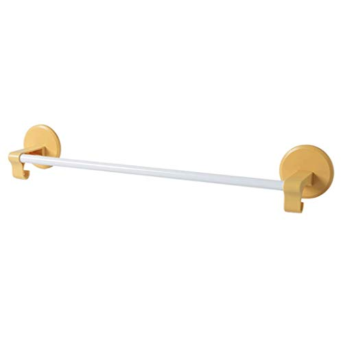 YZ-YUAN Toallero sin Perforaciones Soporte para Inodoro de baño Toallero de Pared para el hogar Toallero de baño Minimalista nórdico (Color: Amarillo)