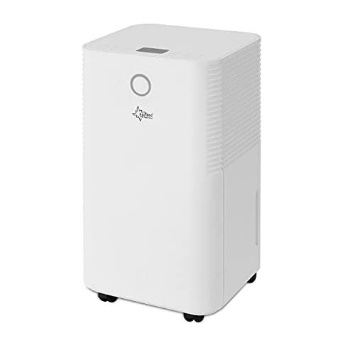 KLIMATRONIC Luftentfeuchter DryFix 3500 [Für Räume bis 95 m³ (~40 m²), Entfeuchtungsleistung = 35 l/Tag, inkl. Luftreinigungsfunktion]
