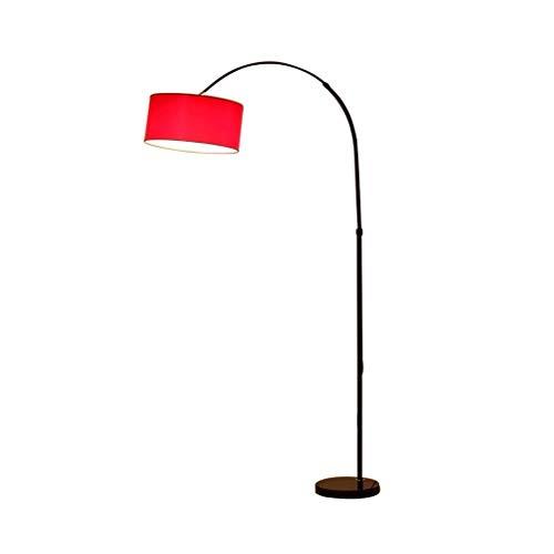 No brand Moderna camber hanging vorm oogschaduw zwart vloerlamp van marmer base-palen in industriële Up Light ingebouwde lamp 12-25