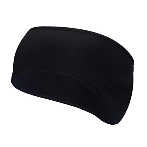 ZYYXB Diadema multifuncional para el invierno, banda elástica para el deporte, banda elástica para yoga, para exteriores, protección de oídos, color negro